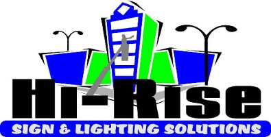 Hi-Rise Sign and Lighting Solutions logo