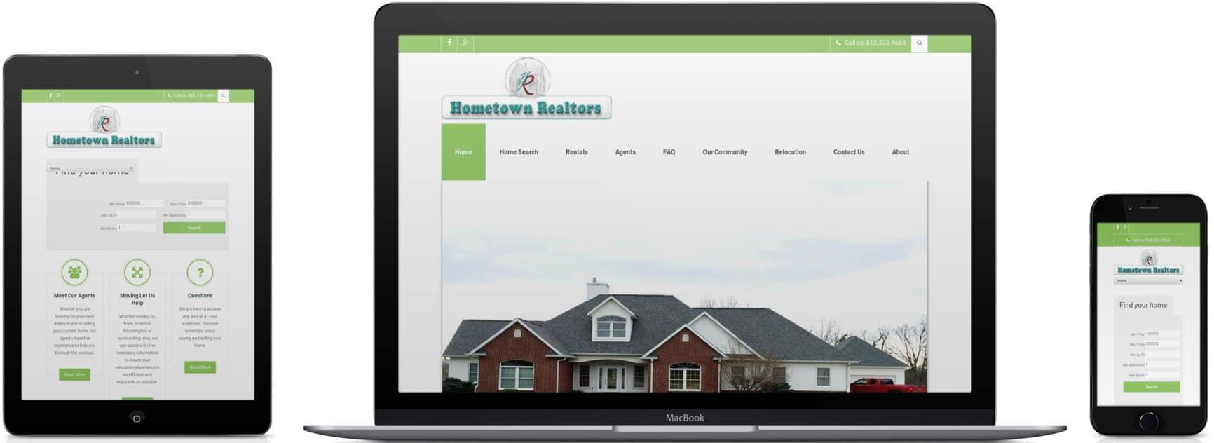 Hometown Realtors Design