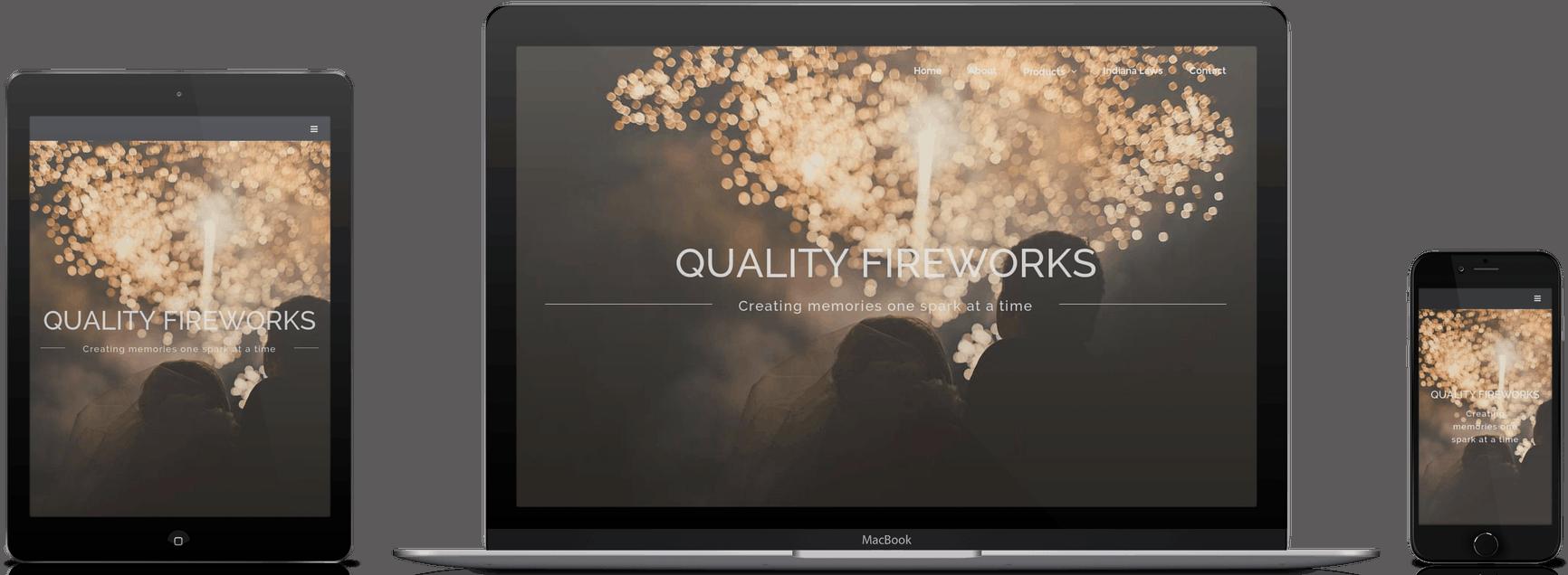 Quality Fireworks Design